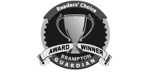 Winner of Numerous Brampton Guardian Readers' Choice Awards